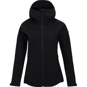 Peak Performance W's Adventure Hood Jacket Black